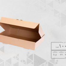 جعبه غذا تک پرس با سرویس (100عددی)