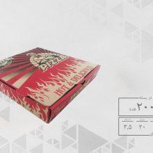 جعبه پیتزا مینی 20 دو رنگ عمومی (200عددی)