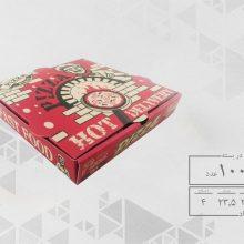 جعبه پیتزا تک نفره 24 دو رنگ عمومی (100عددی) کد 2