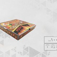 جعبه پیتزا تک نفره 24 چهار رنگ عمومی (100عددی) کد 1