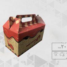 جعبه سوخاری بیرون بر کرافت دسته دار طرح عمومی ( 200 عددی )