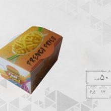 جعبه سیب زمینی مکعبی عمومی (50عددی)