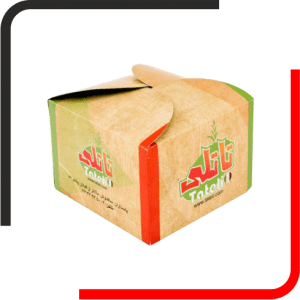 جعبه همبرگری درب هلالی 02 300x300 - بررسی انواع مدل جعبه برگر - تمام آنچه باید درباره خرید جعبه همبرگر بدانید - یکجاپک