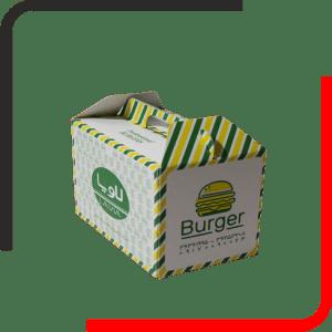 جعبه همبرگری دسته دار 01 300x300 - بررسی انواع مدل جعبه برگر - تمام آنچه باید درباره خرید جعبه همبرگر بدانید - یکجاپک