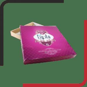 دو تکه02 300x300 - بررسی انواع جعبه پیتزا - مزیت ها و معایب