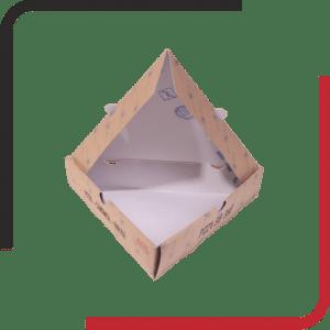 مثلثی02 300x300 - بررسی انواع جعبه پیتزا - مزیت ها و معایب