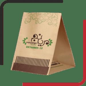 پاکت غذا بیرون بر کرافت بدون دسته 01 300x300 - طراحی و چاپ انواع پاکت بیرون بر - پاکت حمل - پاکت حمل کرافت - یکجاپک