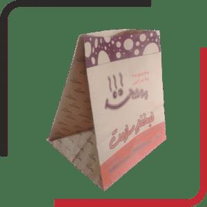 پاکت غذا بیرون بر کرافت بدون دسته 03 300x300 - طراحی و چاپ انواع پاکت بیرون بر - پاکت حمل - پاکت حمل کرافت - یکجاپک