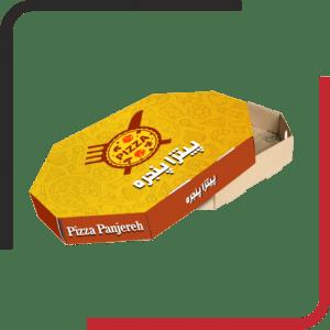 8ضلعی02 300x300 - بررسی انواع جعبه پیتزا - مزیت ها و معایب