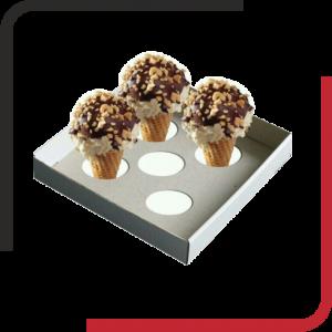 جا بستنی قیفی 01 300x300 - جالیوانی مقوایی