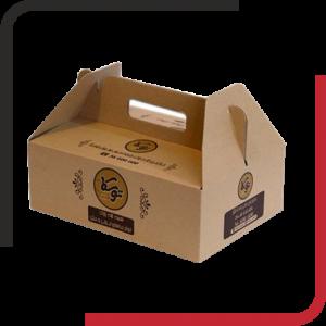جعبه غذا دسته دار 01 300x300 - جعبه غذابیرون بر - پک غذا - از طراحی تا تولید جعبه غذا بیرون بر و پک غذا - یکجاپک