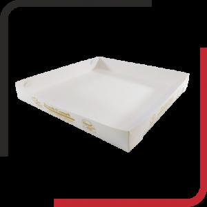 سینی پیتزا داخل سالن 01 300x300 - سینی مقوایی غذا - سینی شیرینگ غذا - از طراحی تا تولید سینی های مقوایی غذا - یکجاپک