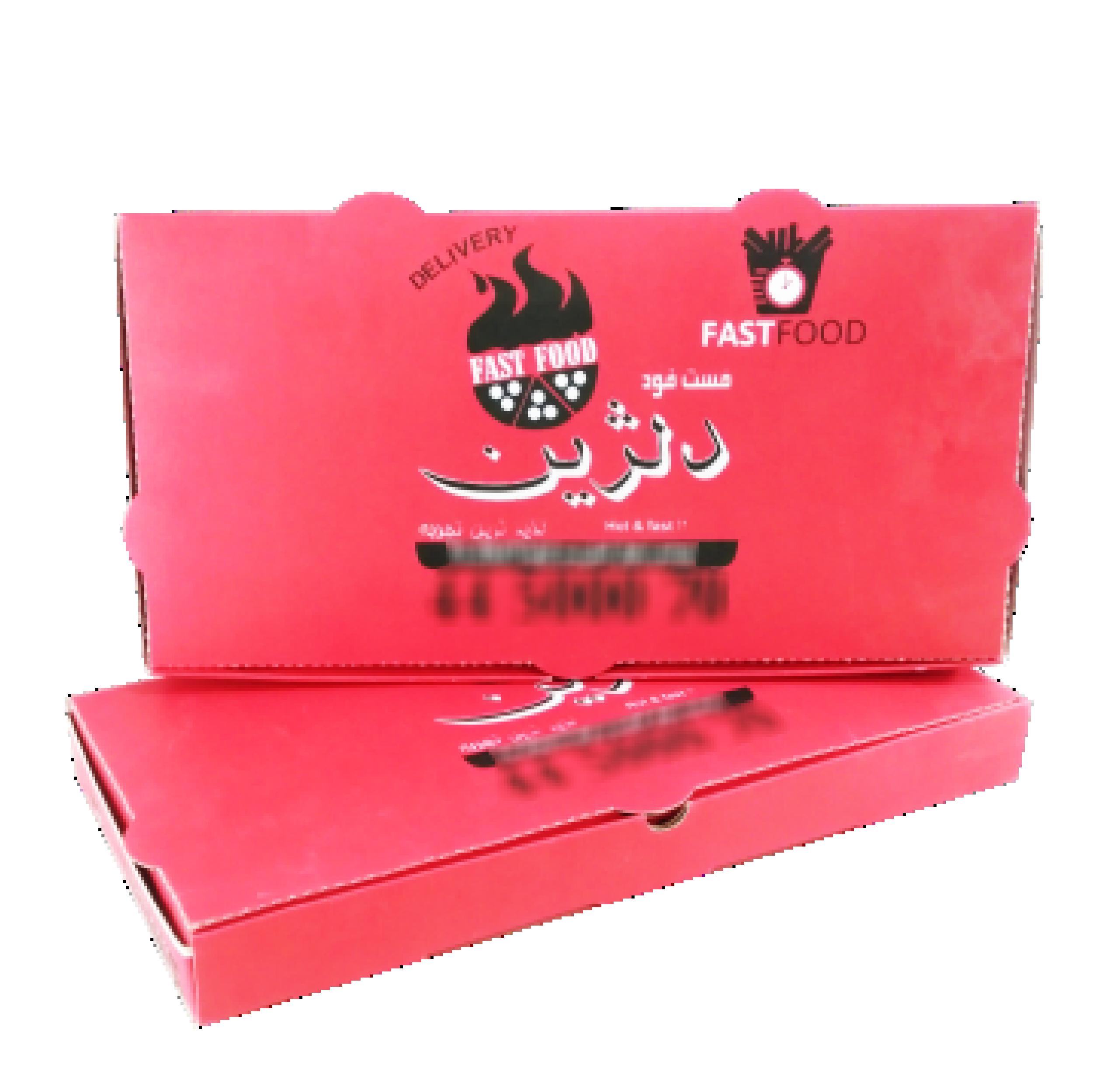جعبه پیتزا مستطیلی 0۳ - جعبه پیتزا - تولید کننده جعبه پیتزا ارزان و با کیفیت