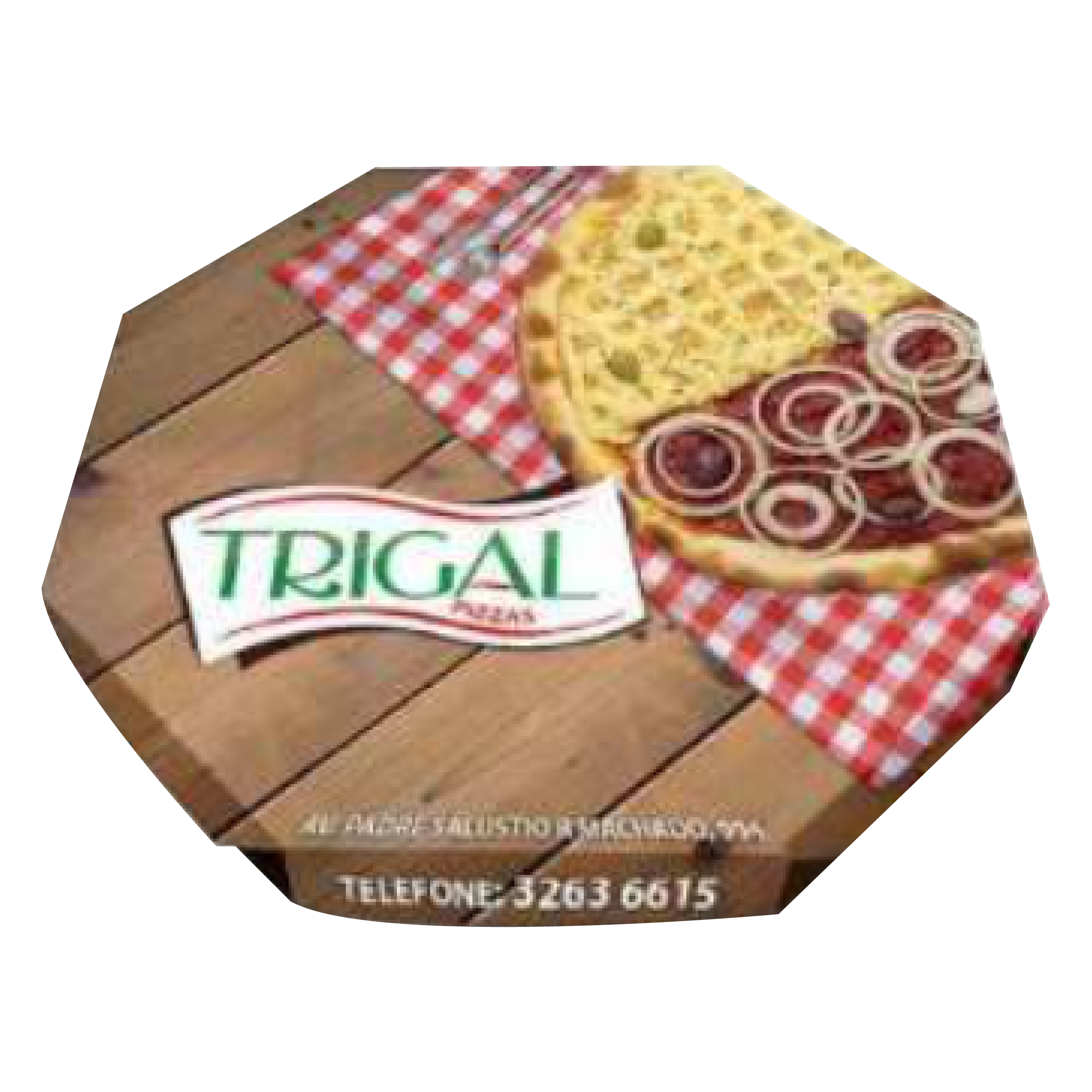 جعبه پیتزا هشت ضلعی 0۳ - جعبه پیتزا - تولید کننده جعبه پیتزا ارزان و با کیفیت